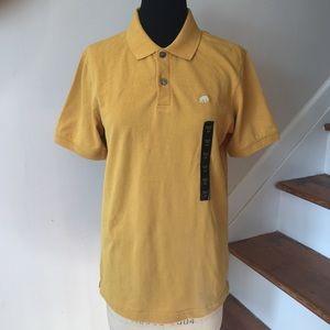NWT Banana Republic Men's Short Sleeve Pique Polo